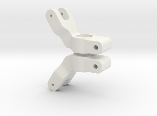 SLASH 2WD - 1 DEGREE REAR HUB CARRIER in White Natural Versatile Plastic