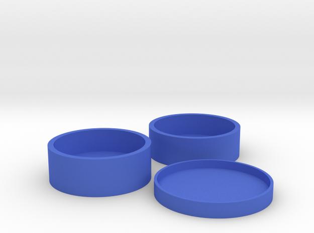 Okito Boston Set USA Half Dollar in Blue Processed Versatile Plastic