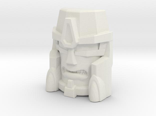 Beast Wars Megs, Grimace (Titans Return) in White Natural Versatile Plastic