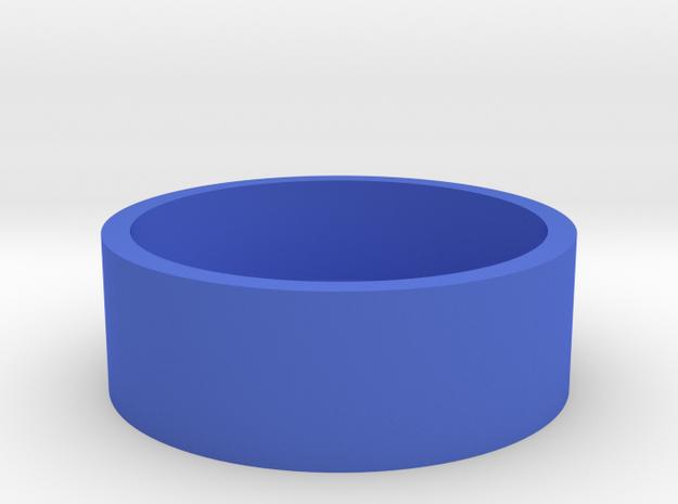 O-Korto Box Base USA Half Dollar in Blue Processed Versatile Plastic