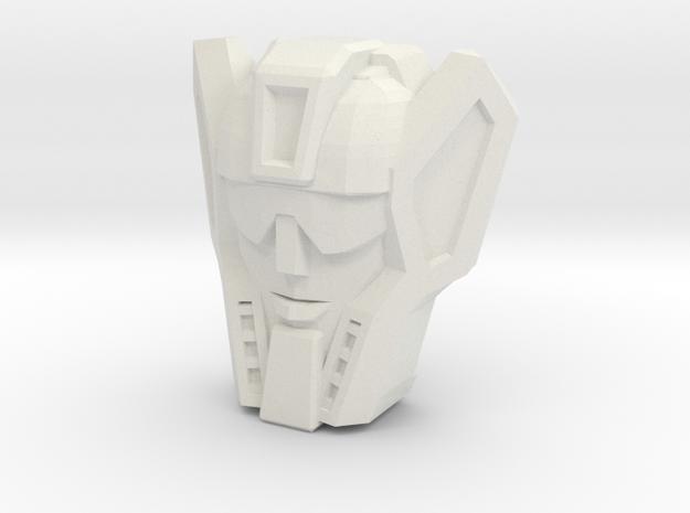 Graduate Blades Faceplate (Titans Return) in White Natural Versatile Plastic