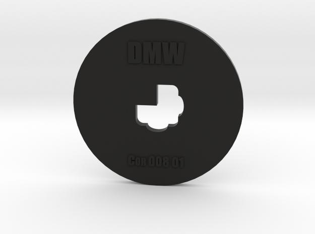 Clay Extruder Die: Corner 008 01 in Black Natural Versatile Plastic