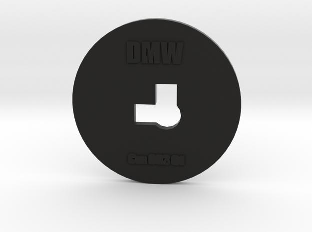 Clay Extruder Die: Corner 003 01 in Black Natural Versatile Plastic