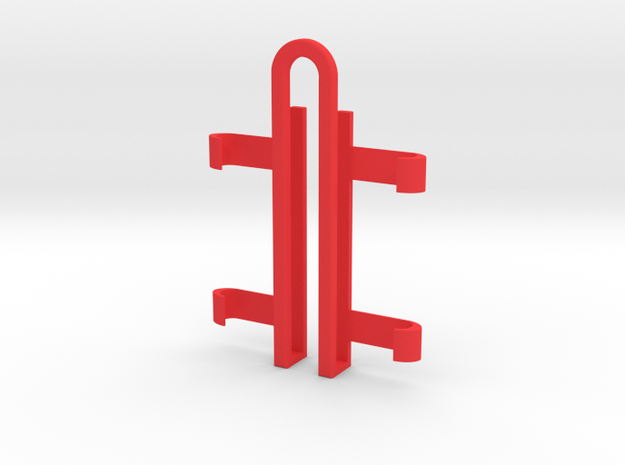 Pokeball Aimer - for iPhone 6 in Red Processed Versatile Plastic