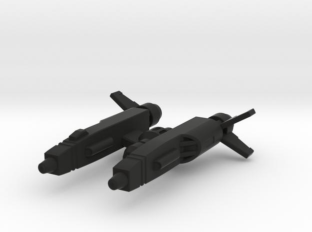 BU-1 in Black Strong & Flexible