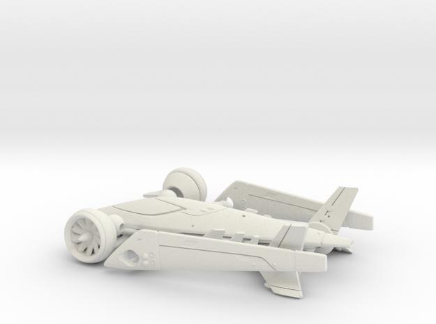 Flakker the flying car - Concept Design Quest in White Natural Versatile Plastic