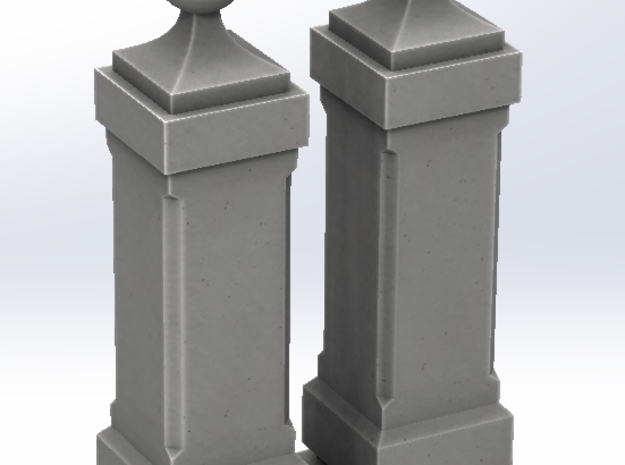 Bollard TOLEDO TYPE 2 in White Strong & Flexible