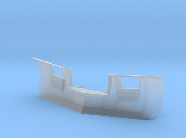 Generic Plow S Scale in Smoothest Fine Detail Plastic