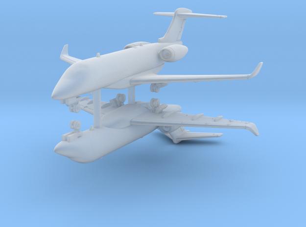 1:400 - Challenger 300 [x2] in Smooth Fine Detail Plastic