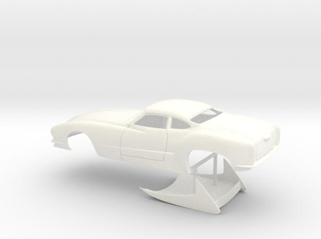 1/25 Outlaw Pro Mod Karmann Ghia No Scoop