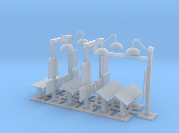 MOF Mail Display Group - 72:1 Scale in Smooth Fine Detail Plastic