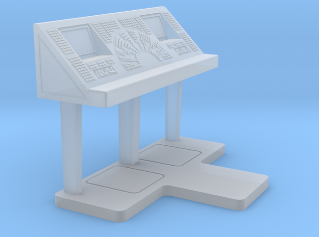 Set-1 CC Console - Free Standing in Frosted Ultra Detail