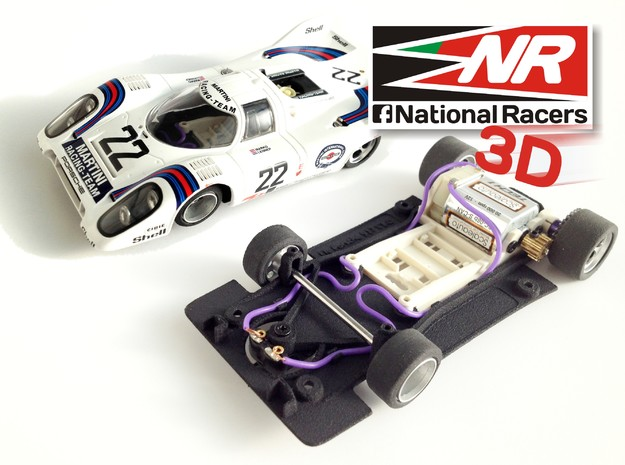 3D chassis - Fly Porsche 917 K / 917 LH - (SW) - 1