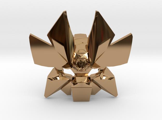 Vahi - Legendary Mask of Time in Polished Brass