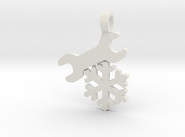 [The 100] Ice Mechanic in White Natural Versatile Plastic