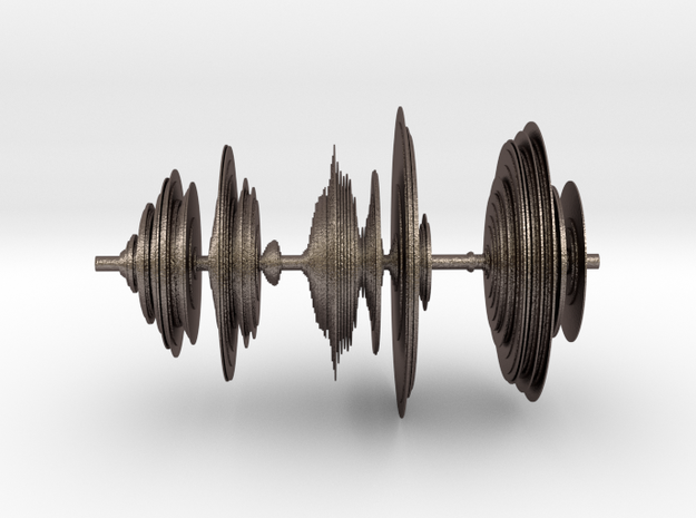 Sound wave in 3D in Stainless Steel