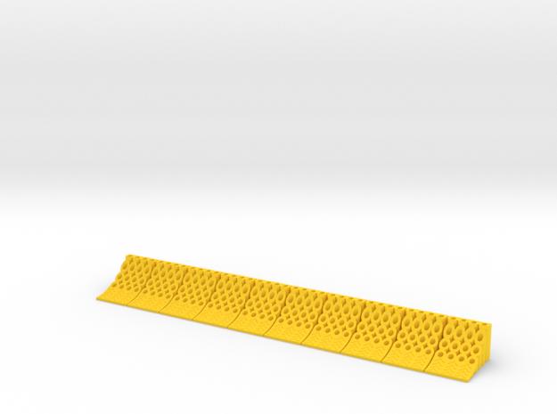 1/32 Unterlegkeile in Yellow Processed Versatile Plastic
