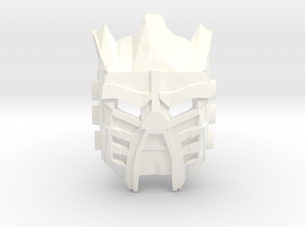 Movie Edition: Mask Of Light in White Processed Versatile Plastic