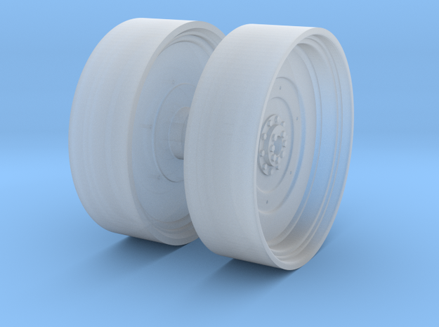 1/64th Outer Dual Wheel Rim in Smooth Fine Detail Plastic