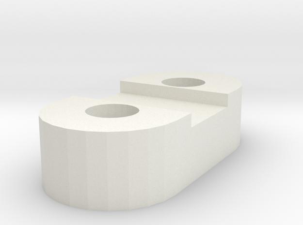 Much4 Y Belt Bridle in White Natural Versatile Plastic