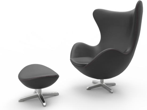 1:24 Egg Chair - Arne Jacobsen