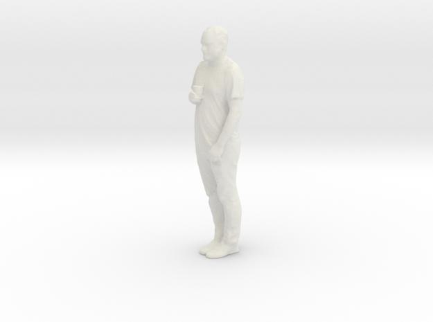 Adam 3D in White Natural Versatile Plastic