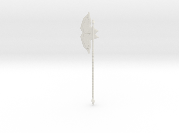 battle Axe 3d printed