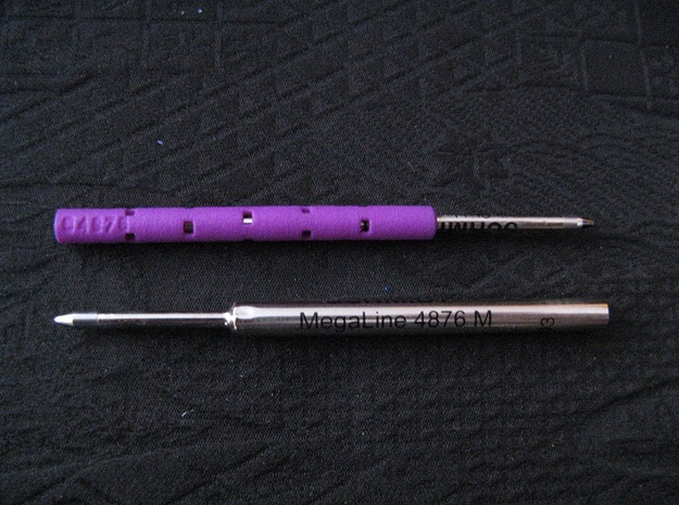 Adapter: Schmidt 4876 To D1 Mini in Purple Processed Versatile Plastic