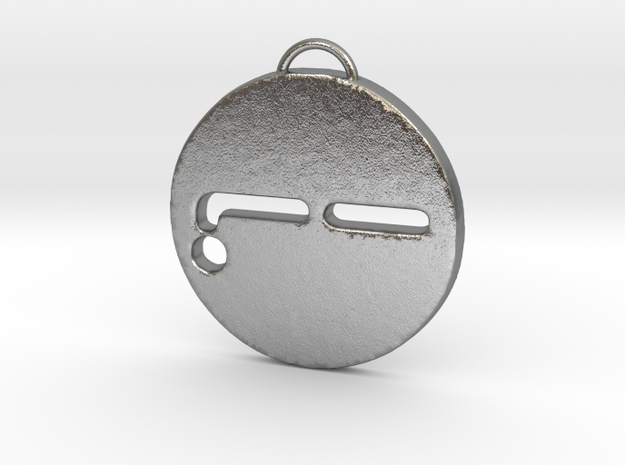 Nothing Face 2 in Natural Silver