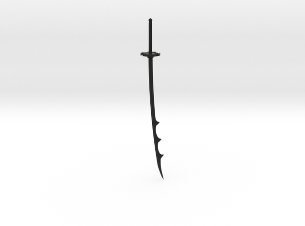 Katana 21 3d printed A example of this sword in black plastic