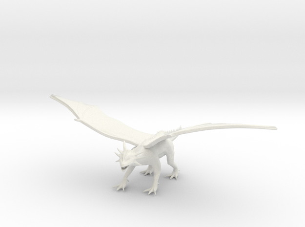 Red Dragon 3d printed