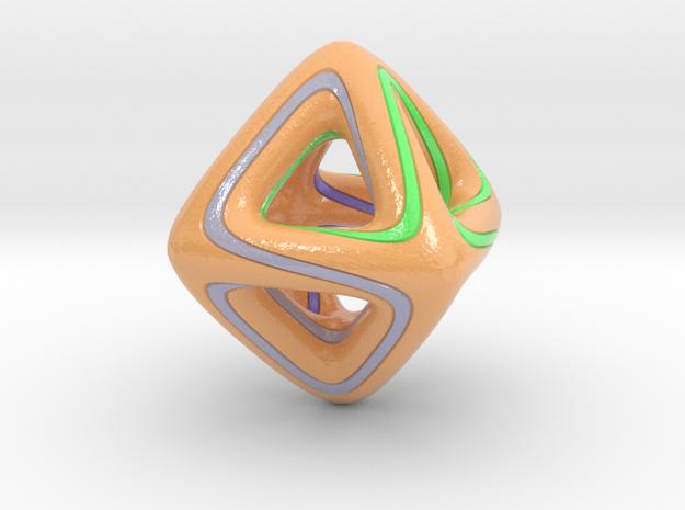 Octafun1 in Glossy Full Color Sandstone