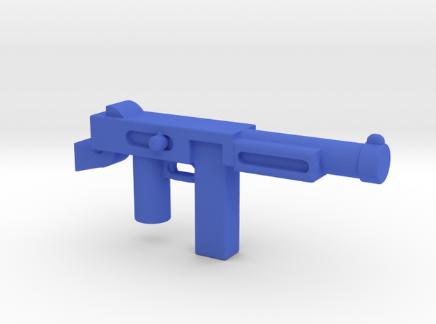 Thompson Gun in Blue Strong & Flexible Polished