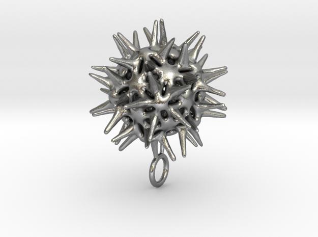 Radiolarian protozoa pendant