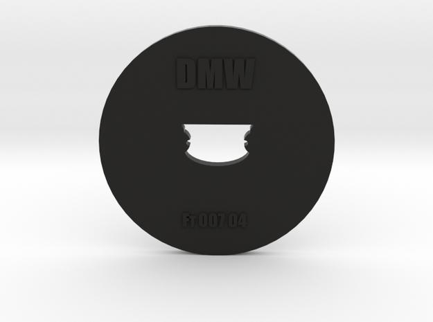 Clay Extruder Die: Footer 007 04 in Black Natural Versatile Plastic