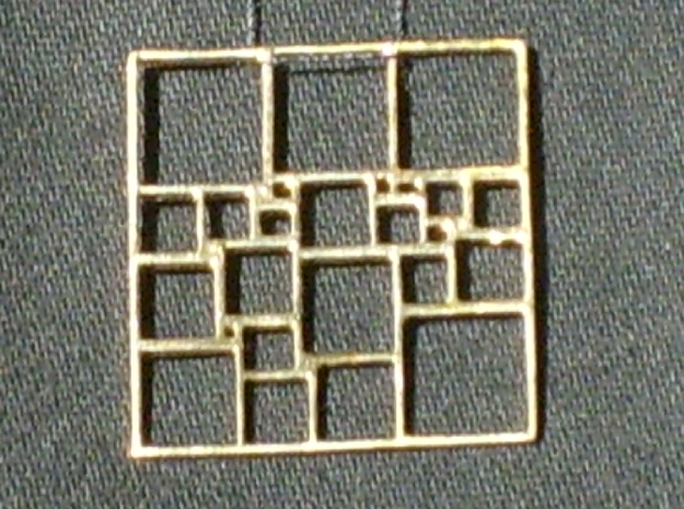 SPSS Pendant #2 in Natural Bronze