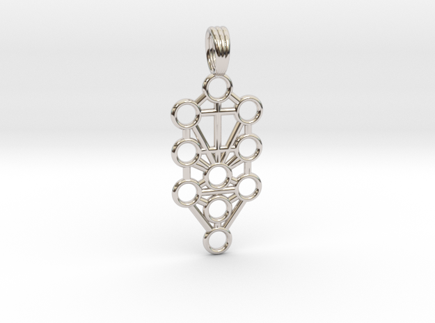 TREE OF LIFE in Rhodium Plated