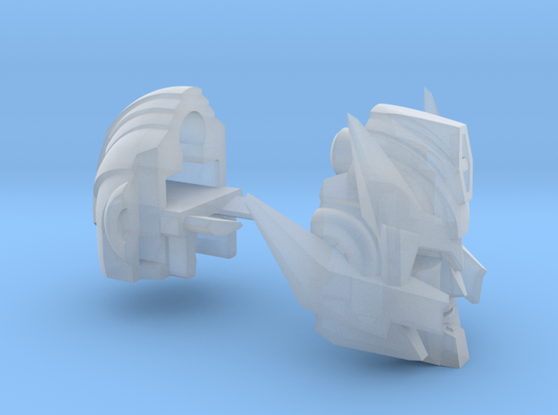 Hot-headed Captain's Head for Animated Blurr in Smooth Fine Detail Plastic