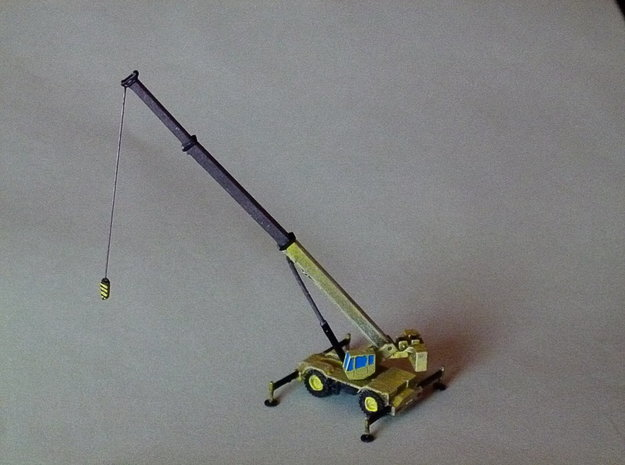 Rough Terrain Crane, Geländekran 1/285 6mm 3d printed