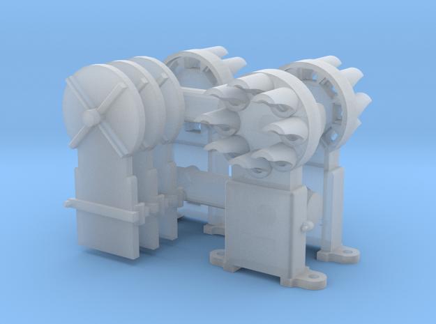 Dwarf B&O CPL(3) 'O'/027 - 48:1 Scale in Smooth Fine Detail Plastic