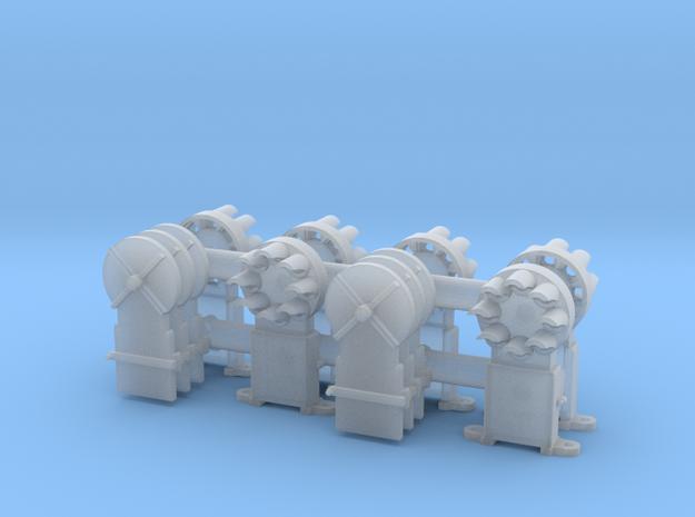 Dwarf B&O CPL(6) 'O'/027 - 48:1 Scale in Smooth Fine Detail Plastic