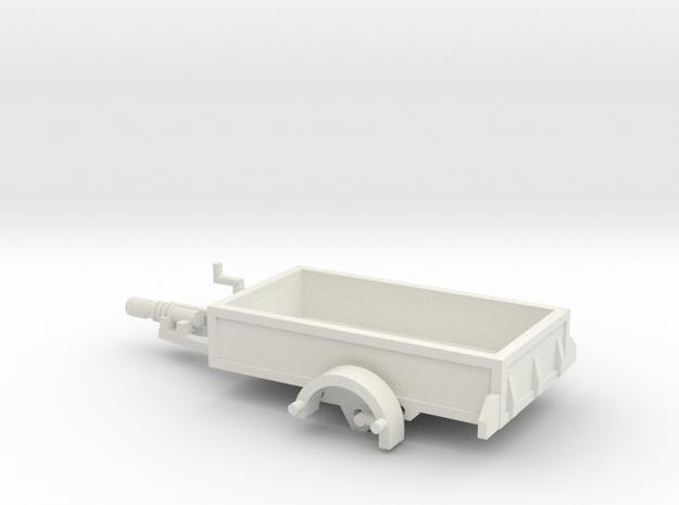 1055 1400 X 2550 HO Anhänger in White Natural Versatile Plastic