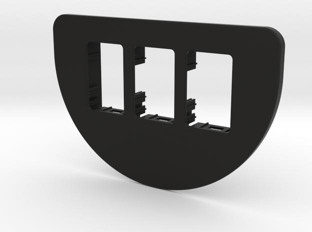 3 OEM Ash Tray Pod (flat & smooth) 97+ Jeep XJ in Black Natural Versatile Plastic