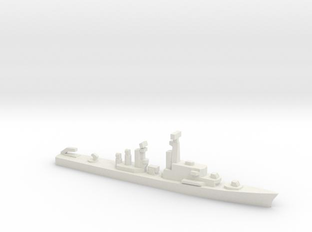 JS Amatsukaze, 1/1800 in White Natural Versatile Plastic