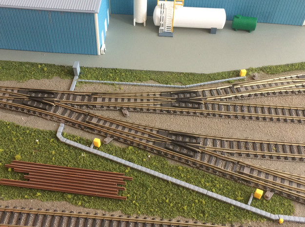 N Scale Cable Duct 1.5mm