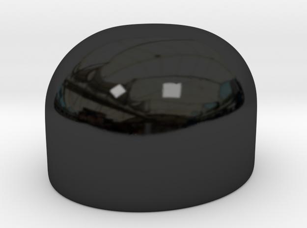 Bowler-Bowl V4-Deckel in Gloss Black Porcelain