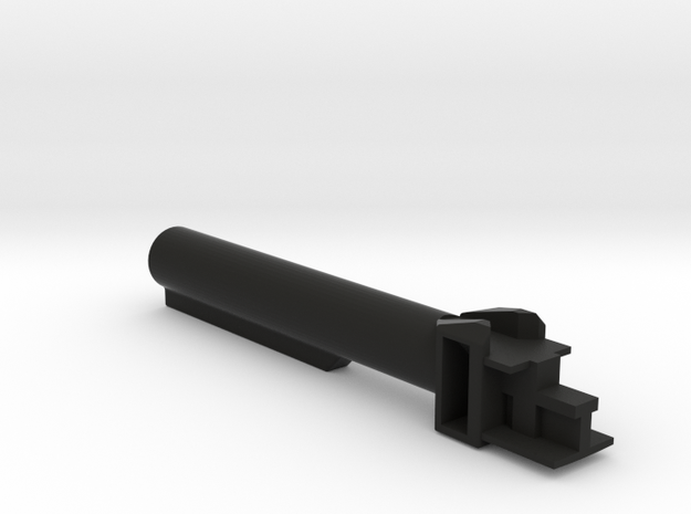 AK 6 position buffer military stock in Black Strong & Flexible