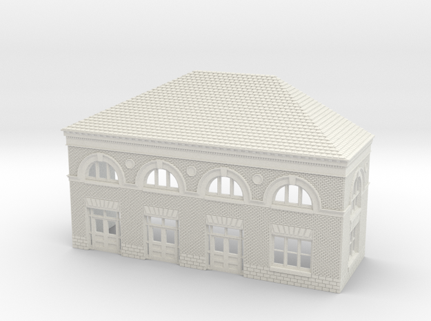 WILMINGTON STATION SOUTH C ROOF in White Natural Versatile Plastic