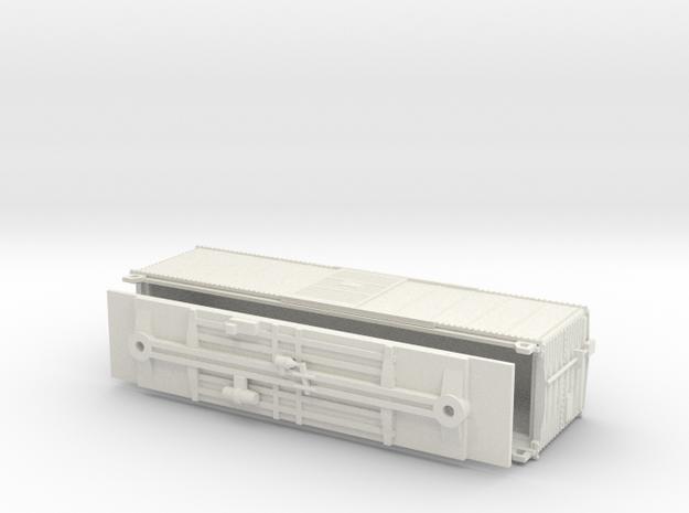 PRR X29B N Scale Coarse Details Just Model in White Natural Versatile Plastic