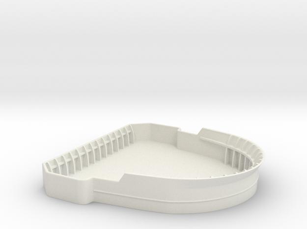 1/75 USN Bridge Tub  in White Natural Versatile Plastic